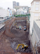 Excavaciones nuevo Polideportivo