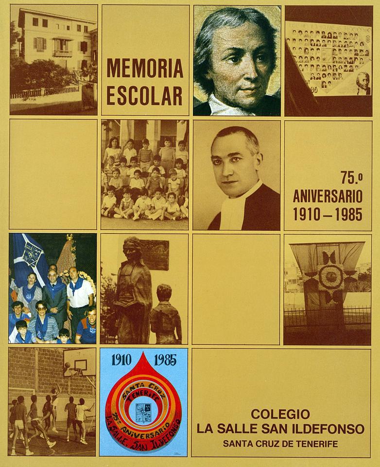 Portada de la Memoria del 75º Aniversario