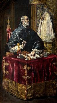 San Ildefonso por El Greco (h. 1597-1603)