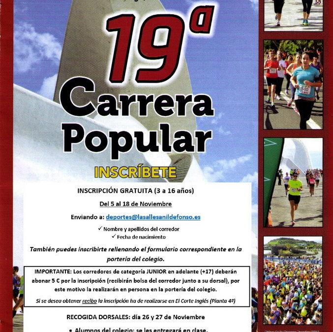 19ª Carrera Popular El Corte Inglés