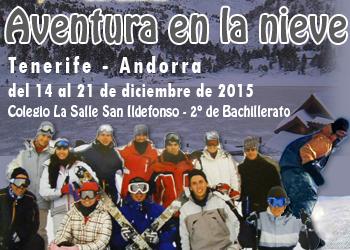 Blog de la Aventura en la nieve de 2º Bachillerato