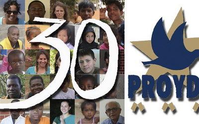 Nuestra ONG PROYDE cumple 30 años