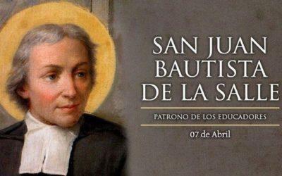 7 de abril 300 años del fallecimiento de San Juan Bautista de La Salle