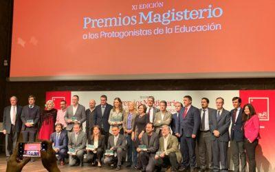 Nuestra Institución recibe el Premio Magisterio a los Protagonistas de la Educación 2019