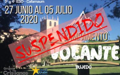 Suspendidas las actividades de SalleJoven