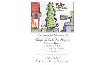 El Colegio La Salle San Ildefonso y la Comunidad de Hermanos de Tenerife les desea una Feliz Navidad y Próspero Año Nuevo