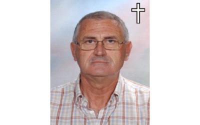Fallecimiento del antiguo profesor de nuestro Centro, D. Tomás Miranda Gómez