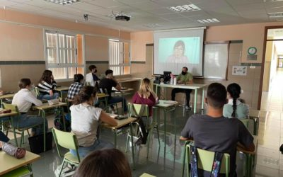 Videoconferencia en Bachillerato sobre las profesiones y competencias del futuro más demandadas