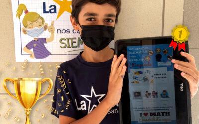 Nuestro alumno Lucas Padrón ganador en el torneo de Matemáticas Sociedad Canaria Isaac Newton