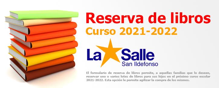 Reserva de libros 2021/2022