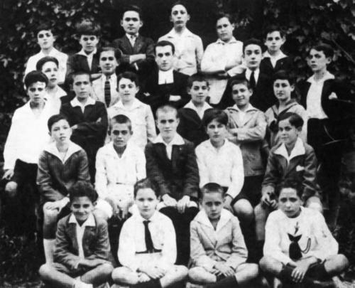 Bachillerato en 1922