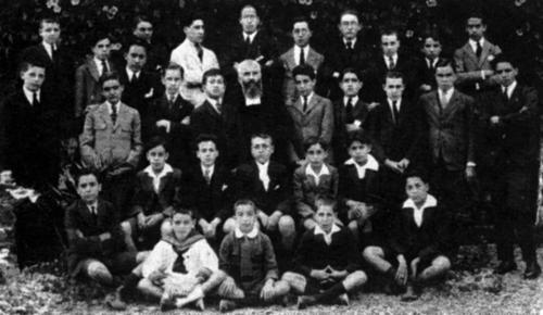 Alumnos en 1925