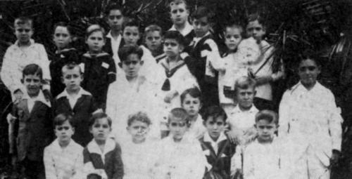 Primera Comunión en 1926