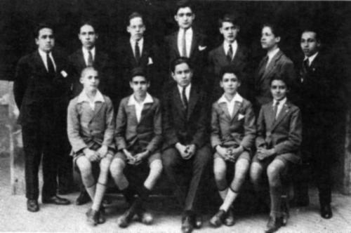 Bachillerato en 1927