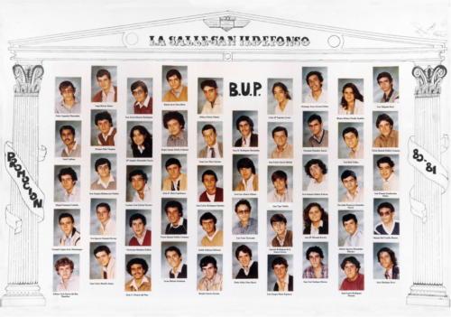 33ª Promoción Curso 1980-1981