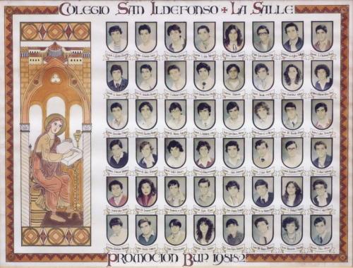34ª Promoción Curso 1981-1982