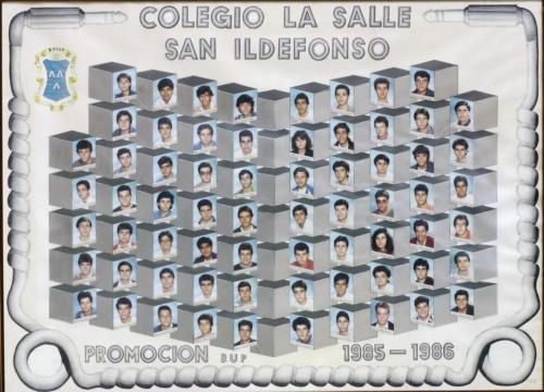 38ª Promoción Curso 1985-1986