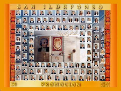 54ª Promoción Curso 2002-2003