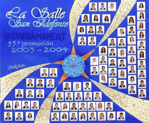 55ª Promoción Curso 2003-2004