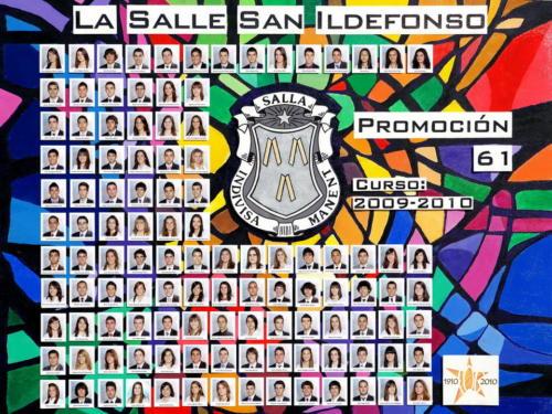 61ª Promoción Curso 2009-2010