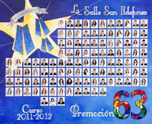 63ª Promoción Curso 2011-2012
