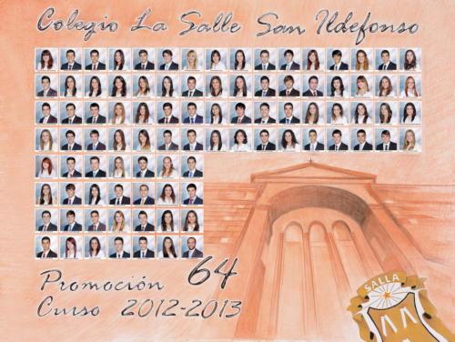 64ª Promoción Curso 2012-2013