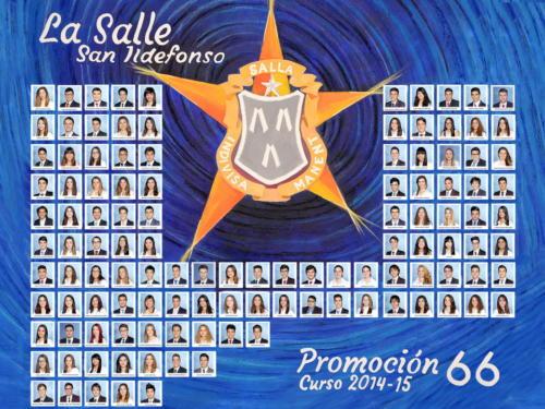 66ª Promoción Curso 2014-2015